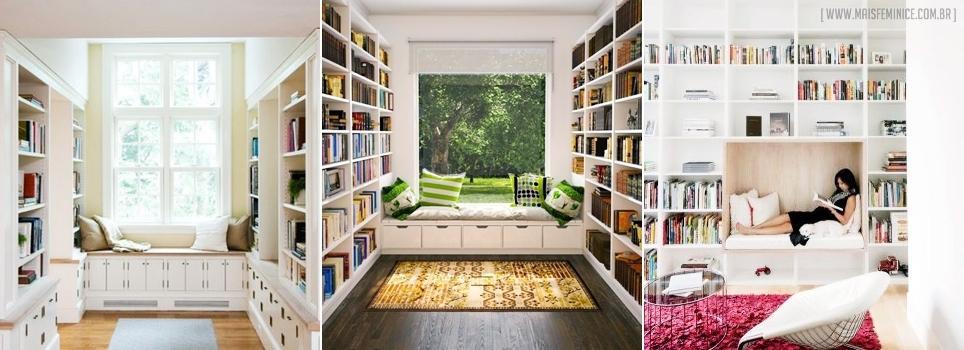 Biblioteca na decoração #DreamRoom