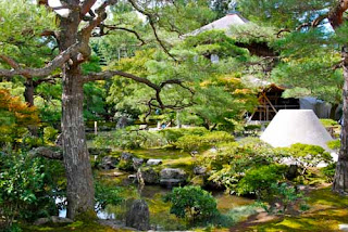 Japanese Gardens Ginkakuji Temple Silver Temple Kyoto Japan