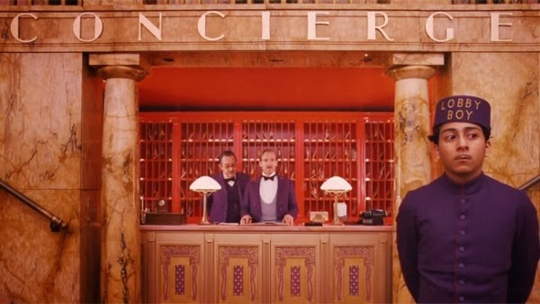 The Grand Budapest Hotel, directed by Wes Anderson