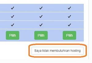 tidak membutuhkan hosting