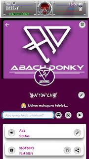 BBM Mod Purple for Android Download Gratis