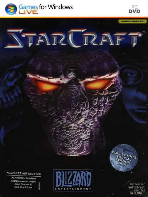 تحميل لعبة 1 StarCraft مضغوطة برابط واحد مباشر + تورنت كاملة مجانا