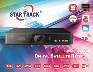 Star track receiver SRT5555 FHD