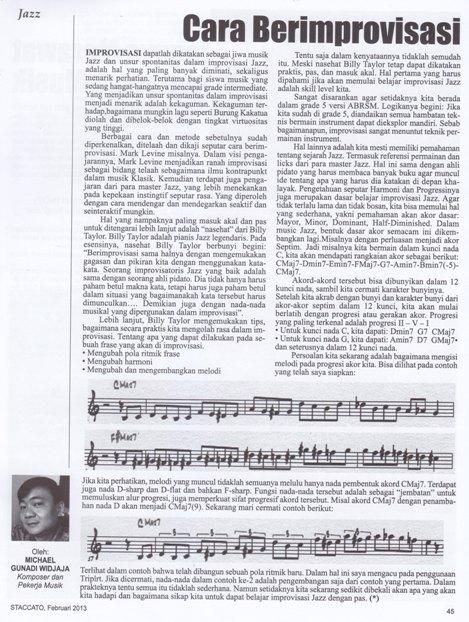 PDF Penerapan Pendekatan Improvisasi Chordal Pada Piano Jazz