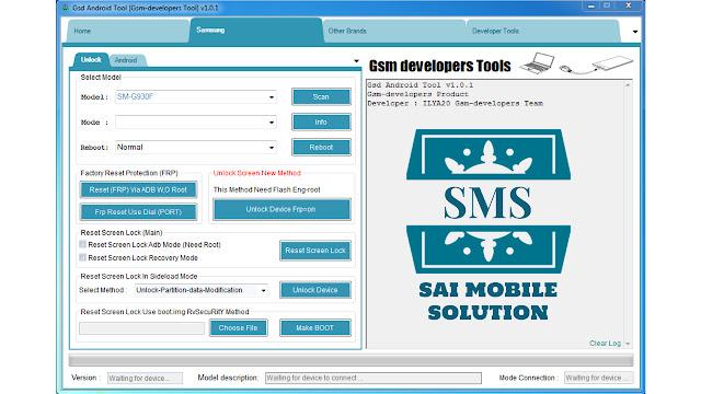 GSD Android Tool v1 0 1 - IMET Mobile Repairing Institute IMET