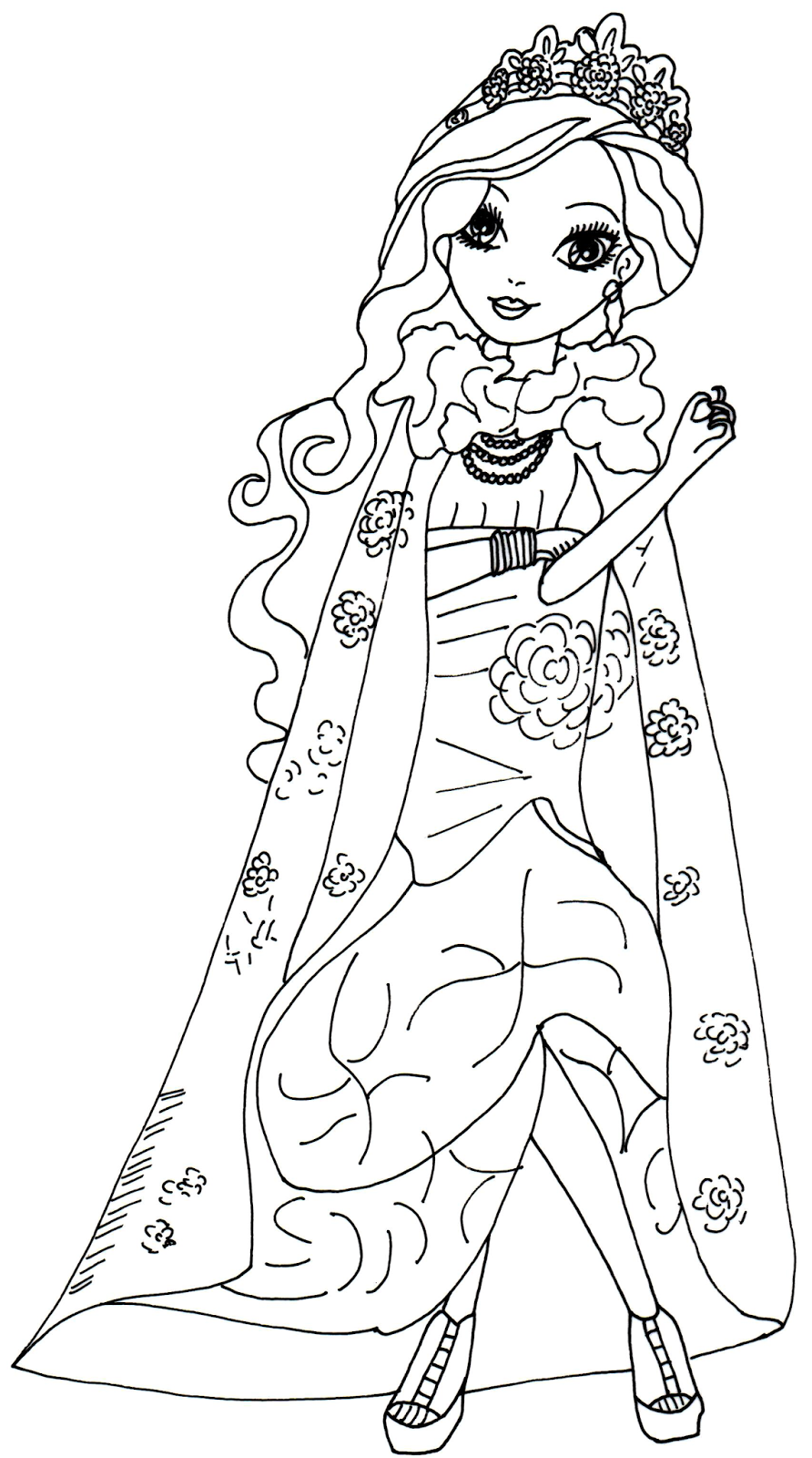 Free Printable Ever After High Coloring Pages: Briar ...