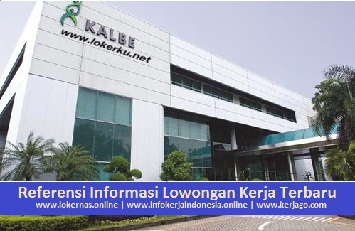Kesempatan Kerja di PT Kalbe Farma Manufacturing (Kalbe Farma Tbk) (Lulusan SMA/SMK/Setara)