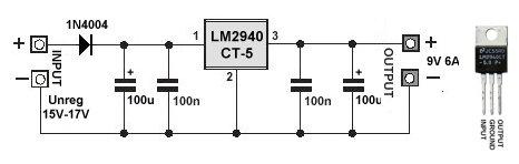 Low Dropout 5V Voltage Regulator