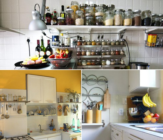 storage ideas for small kitchens is sayang idea susun atur dapur kecil 8375