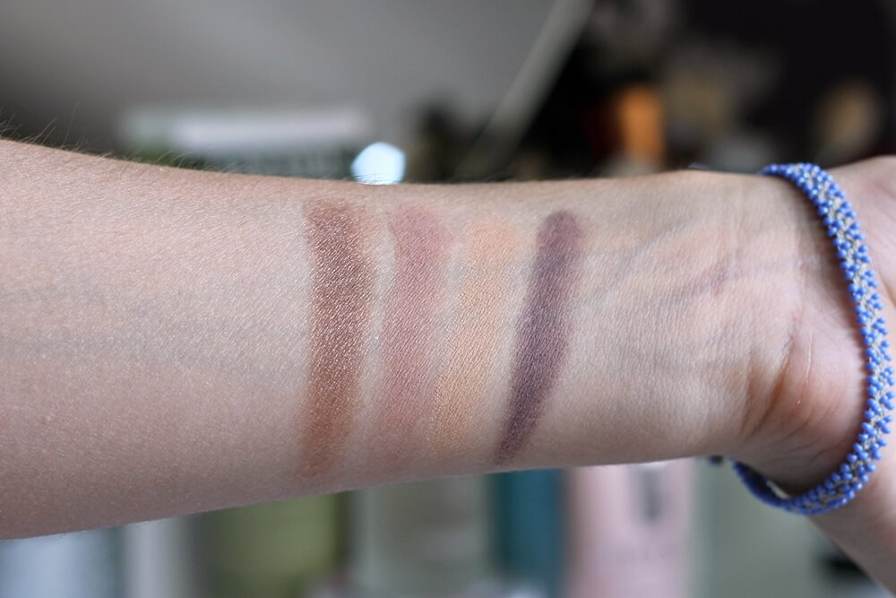 MAYBELLINE COLOR TATTOO CREAMY MATTES EYESHADOW SWATCHES