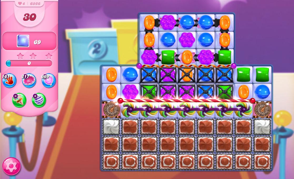Candy Crush Saga level 6866