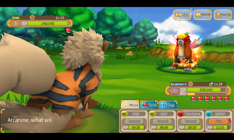 how to catch entei in monster park