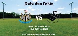 Data dan Fakta Fantasy Premier League Newcastle United vs Swansea Fantasi Manager Indonesia