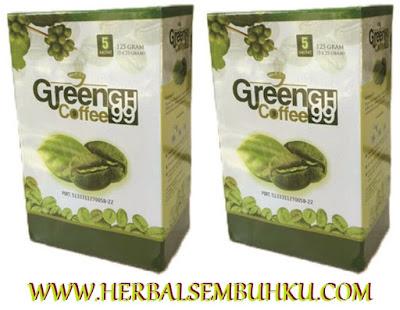JUAL GREEN COFFEE GH 99 DI SURABAYA SIDOARJO JAKARTA