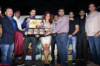 Pia Bajpai and Darshan Kummar Launching the Music of movie Mirza Juuliet 007.JPG