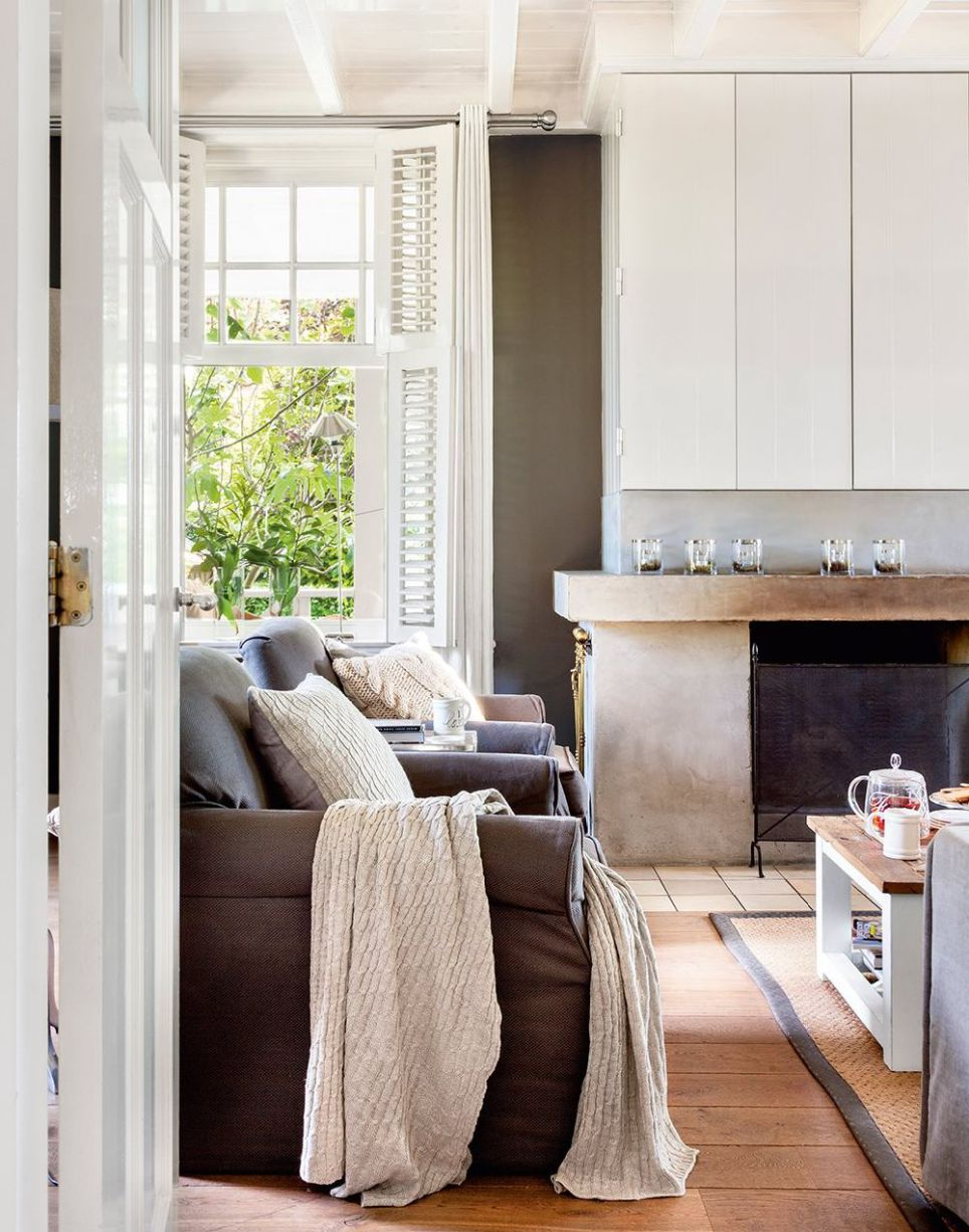 ... 1920u0027s Terrace House And Transformed It Into A Charming And Welcoming  Home With An Elegant, Mediterranean Style Decoration, Warm Colors, Earth  Tones, ...