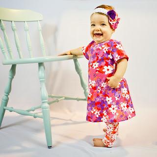short sleeve baby dress pattern