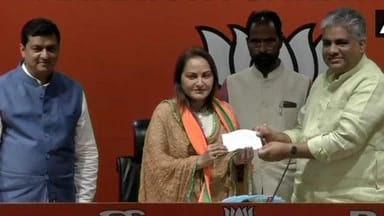 Jaya Prada Joins Bjp Says Against Azam Khan Uttar Pradesh