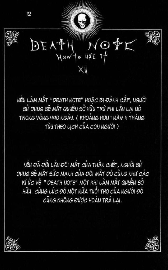 Death Note chapter 110 - how to use trang 15