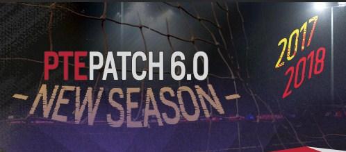 Patch PES 2017 terbaru dari PTE V6.0
