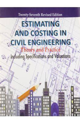 Estimation and costing by B N Dutta