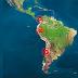Alerta por fuertes sismos en Panamá, Colombia, Ecuador, Perú, Chile y Argentina.