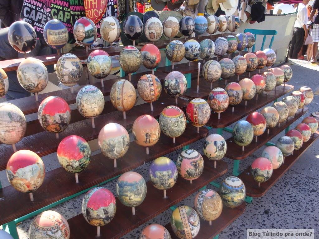 mercado de artesanato em Hout Bay