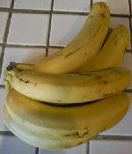 Ripe bananas need a home