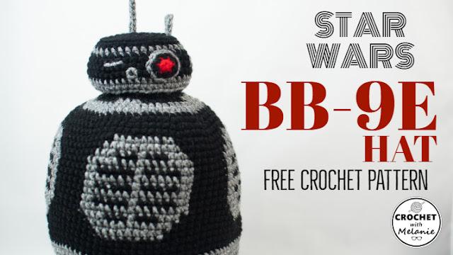 Star Wars BB-9e Hat - Free Crochet Pattern