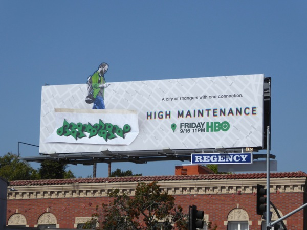 High Maintenance special extension billboard