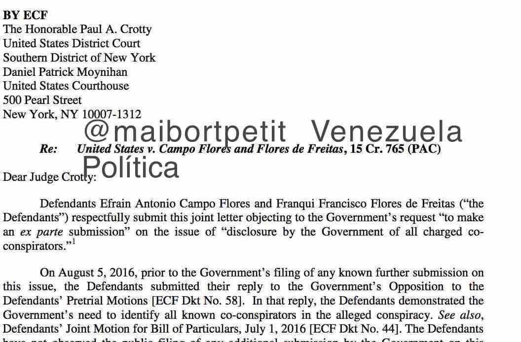 Venezuela Política : agosto 2016