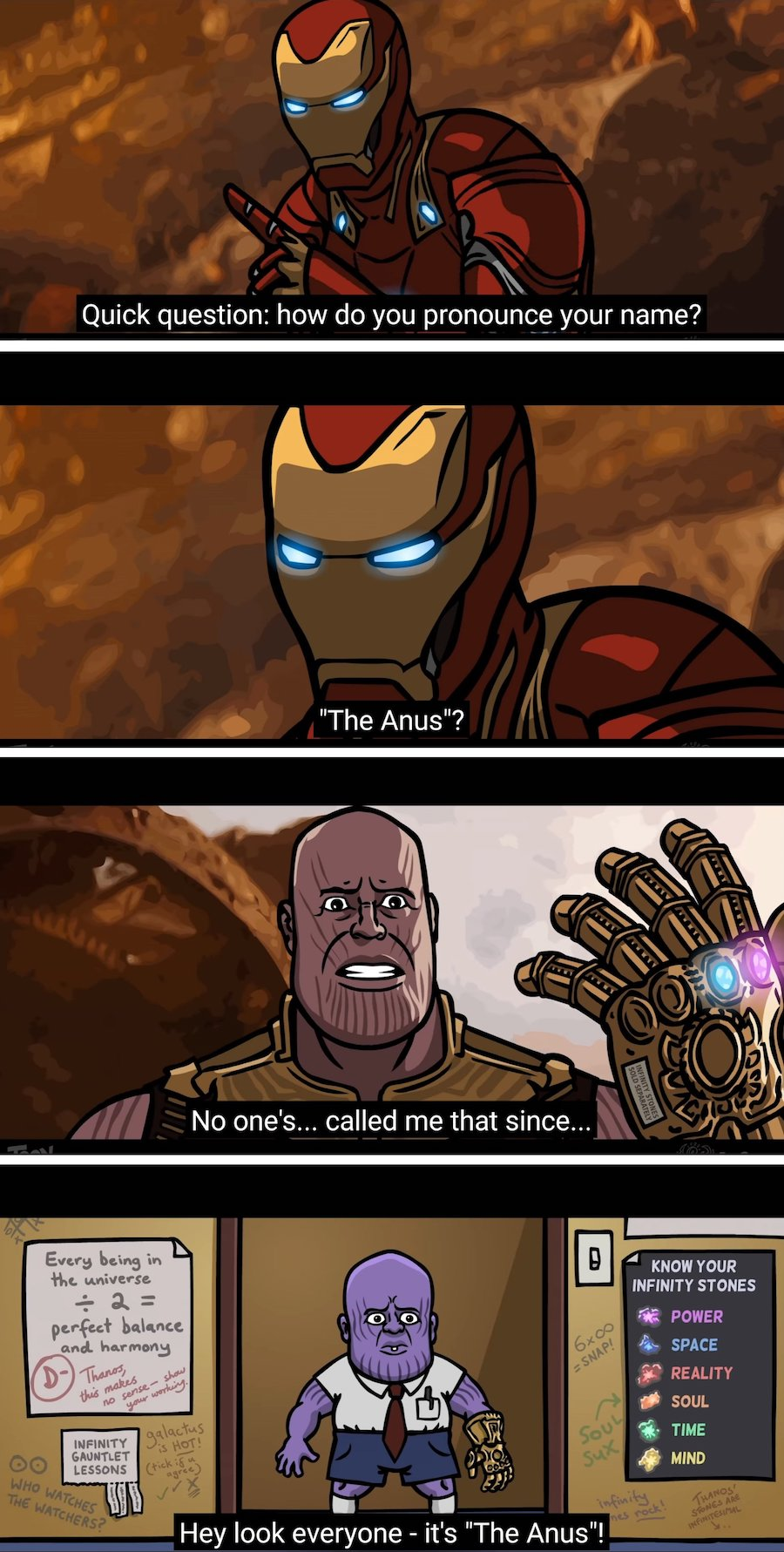 The real motivation for the snap
