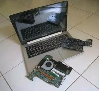 Laptop Rusak Aktifitas Jadi Terganggu