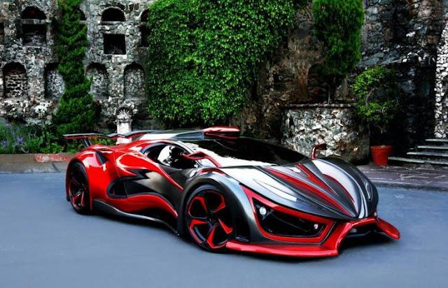 El auto más extremo se llama'Inferno' y es Mexicano