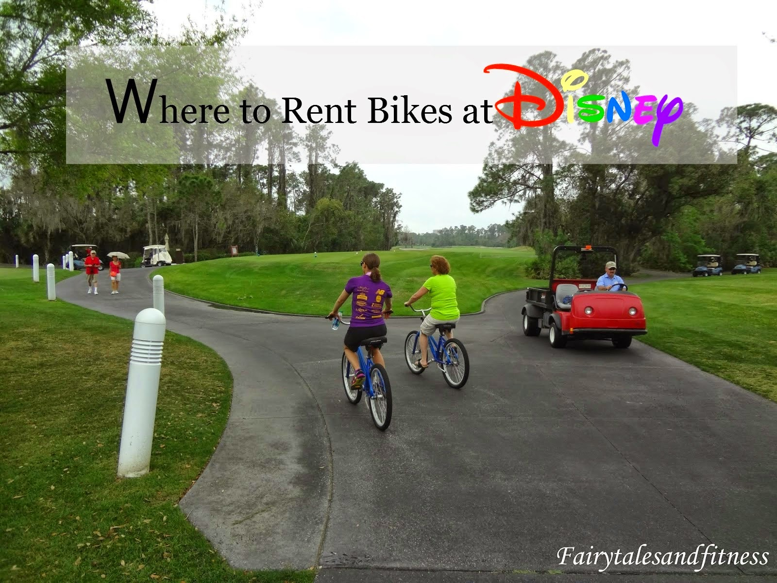 bike path at disney
