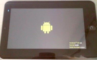 android os 2.2 kernel 2.6.32 build no v1.3.1