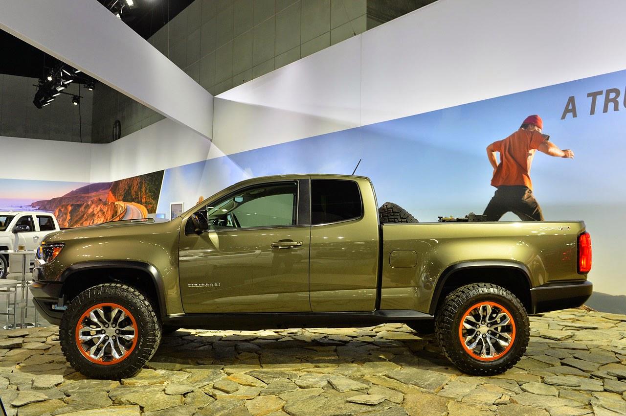 Chevrolet colorado zr2 concept la 2014 photos