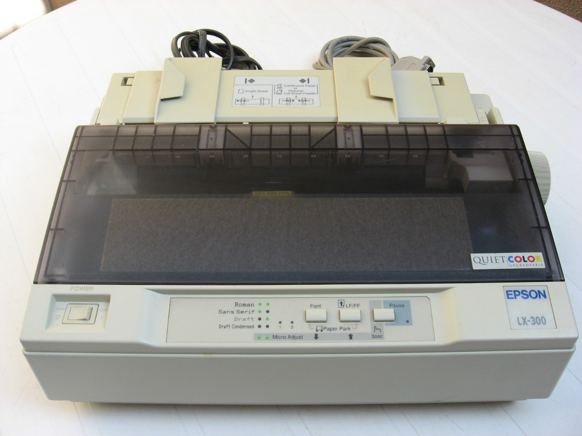 Printer Driver For Epson Lx 300 On Windows 7 Windows 8 And Windows 8 1