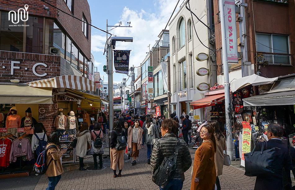 เที่ยวโตเกียว 1 วัน : ฮาราจูกุ (Harajuku)