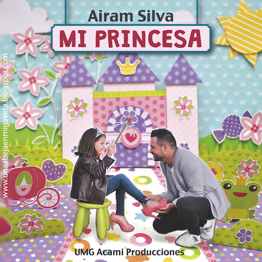 Mi princesa - Portada de un single con papel de scrap
