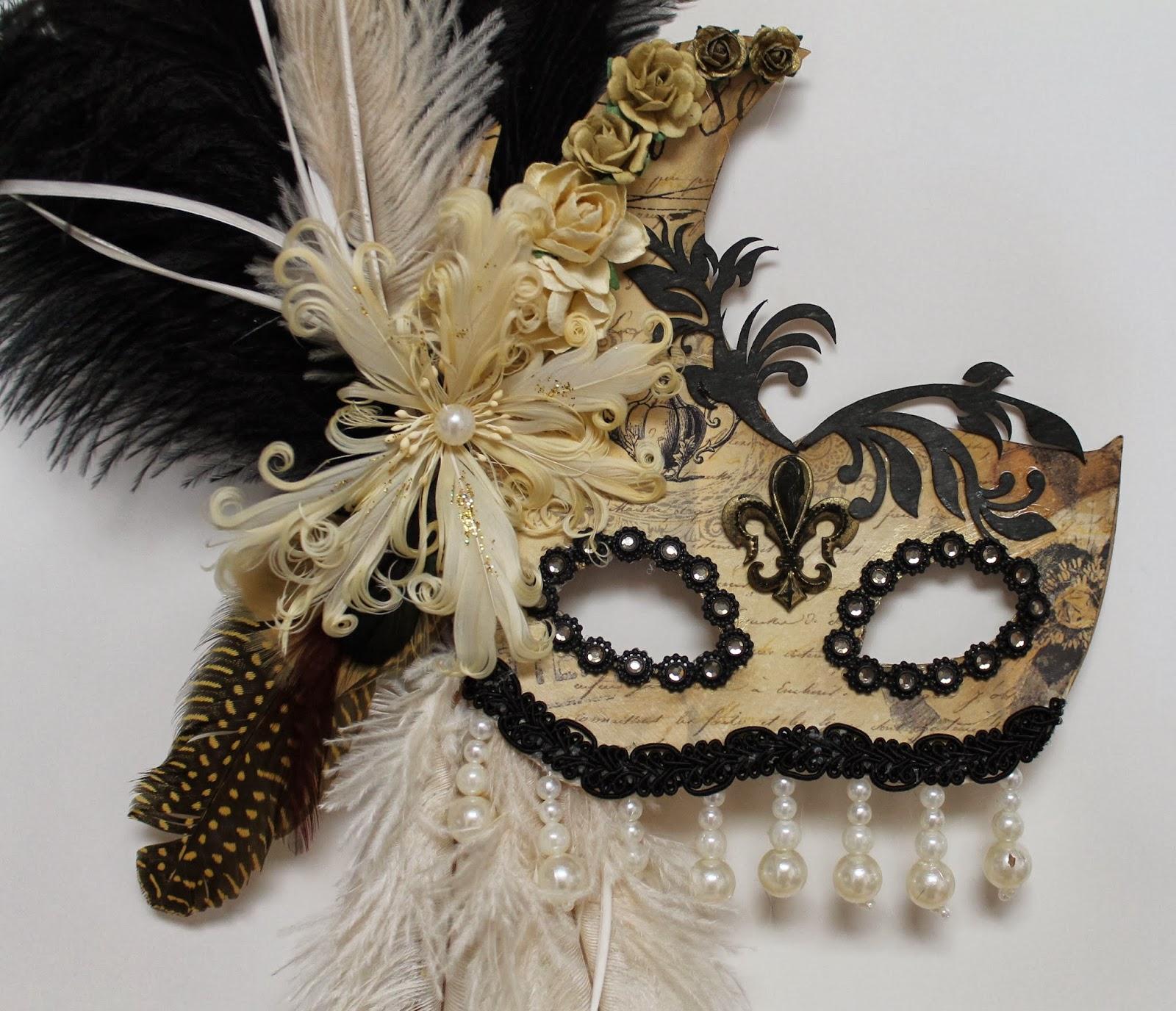 Ginas Designs: Masquerade Mask