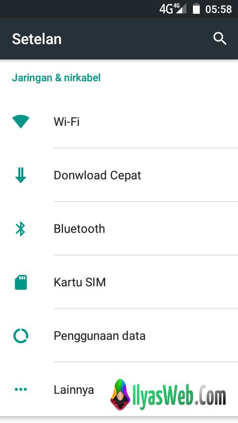 Cara Mengubah Jaringan 3G Ke 4G ~ 1