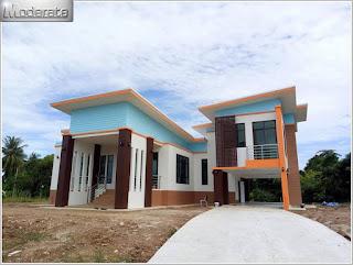 แบบบ้านสองชั้นสมัยใหม่