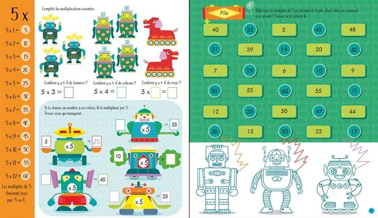 El cantou des lectures cahier d 39 activit s les multiplications for Apprendre ses tables de multiplication en jouant