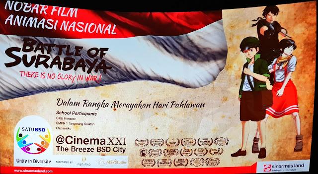 Battle of Surabaya Sebuah Film 2D Animasi Karya Anak Bangsa