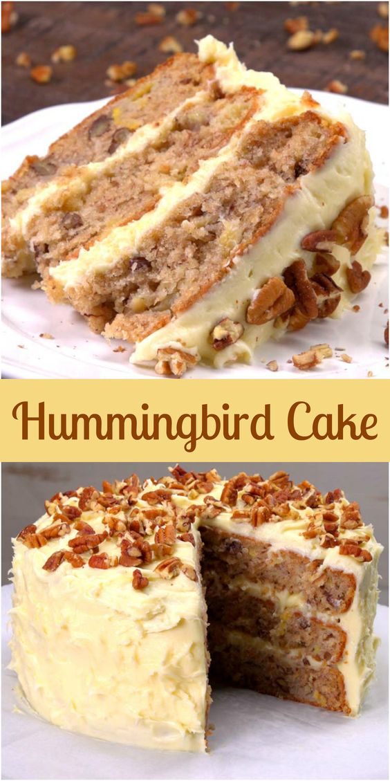 This Hummingbird Cake Recipe is the South's Favorite Cake #Hummingbird #Cake #Recipe #Cake #DESSERTS #HEALTHYFOOD #EASYRECIPES #DINNER #LAUCH #DELICIOUS #EASY #HOLIDAYS #RECIPE #SPECIALDIET #WORLDCUISINE #CAKE #APPETIZERS #HEALTHYRECIPES #DRINKS #COOKINGMETHOD #ITALIANRECIPES #MEAT #VEGANRECIPES #COOKIES #PASTA #FRUIT #SALAD #SOUPAPPETIZERS #NONALCOHOLICDRINKS #MEALPLANNING #VEGETABLES #SOUP #PASTRY #CHOCOLATE #DAIRY #ALCOHOLICDRINKS #BULGURSALAD #BAKING #SNACKS #BEEFRECIPES #MEATAPPETIZERS #MEXICANRECIPES #BREAD #ASIANRECIPES #SEAFOODAPPETIZERS #MUFFINS #BREAKFASTANDBRUNCH #CONDIMENTS #CUPCAKES #CHEESE #CHICKENRECIPES #PIE #COFFEE #NOBAKEDESSERTS #HEALTHYSNACKS #SEAFOOD #GRAIN #LUNCHESDINNERS #MEXICAN #QUICKBREAD #LIQUOR