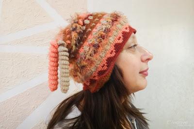 """Почти перуанская шапка. Шапка """"Париж"""""""