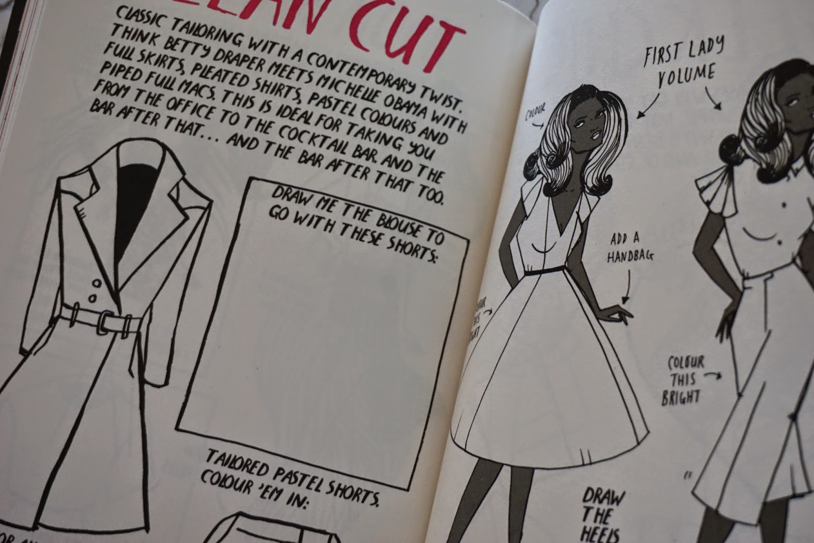 Map My Style Interactive Fashion Activity Book