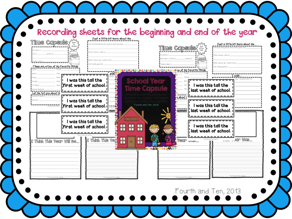 2nd Graders Paper Template