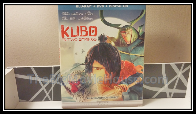 The Kubo and the Two Strings blu-ray slip cover from Universal
